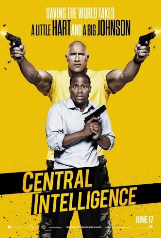 Полтора шпиона / Central Intelligence (2016): постер