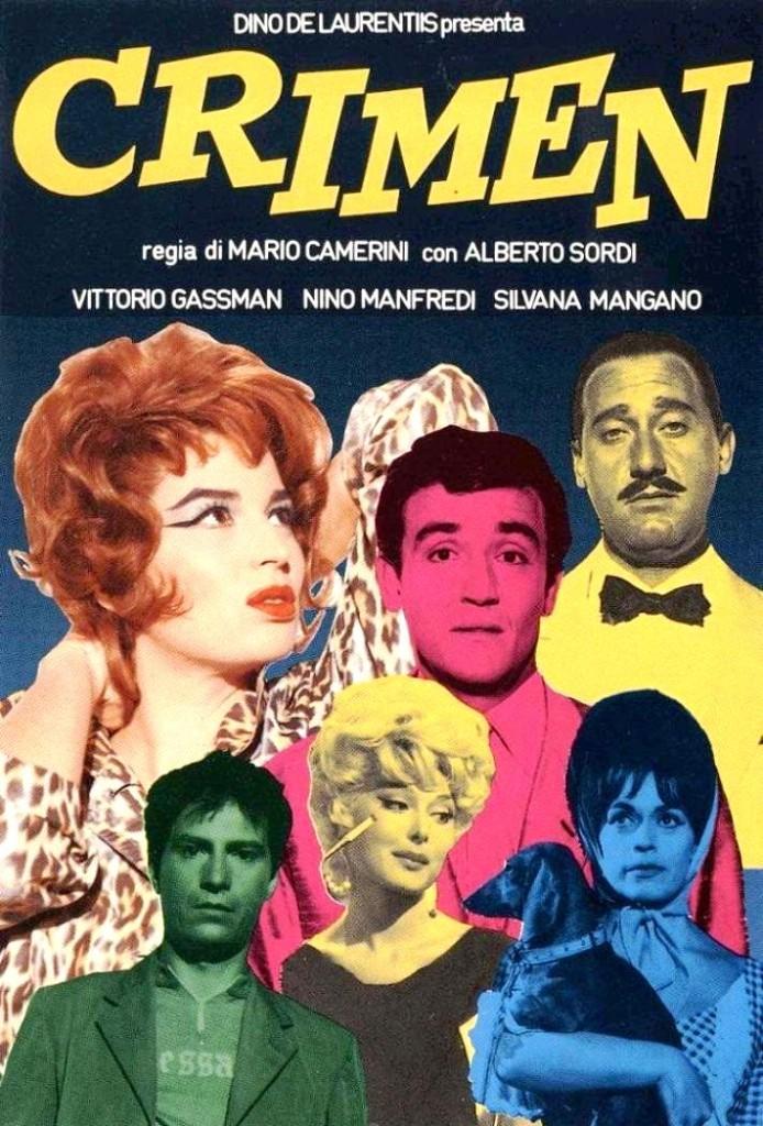 Преступление / Crimen (1960): постер