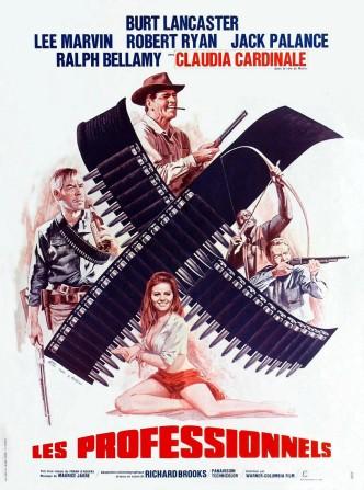 Профессионалы / The Professionals (1966): постер