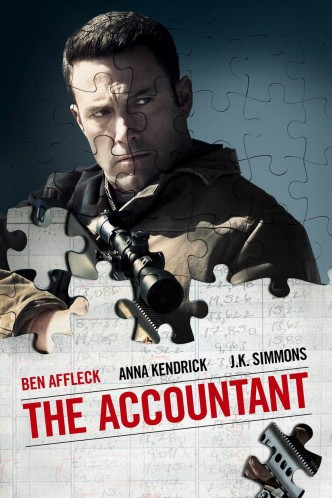 Расплата / The Accountant (2016): постер