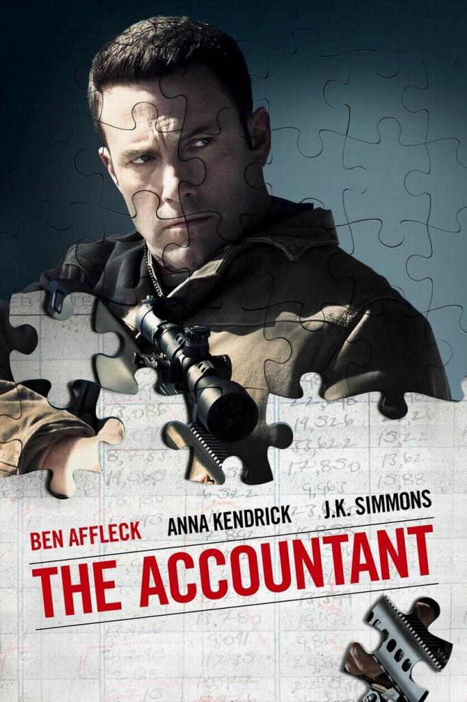 Расплата / The Accountant (2016): постер