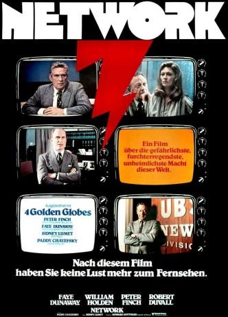 Телесеть / Network (1976): постер
