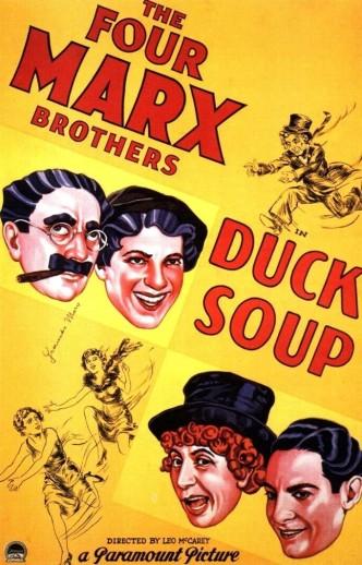 Утиный суп / Duck Soup (1933): постер