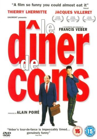 Ужин с придурком / Le dîner de cons (1998): постер