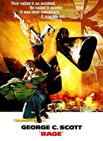 Ярость / Rage (1972): постер