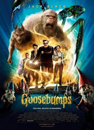 Ужастики / Goosebumps (2015): постер