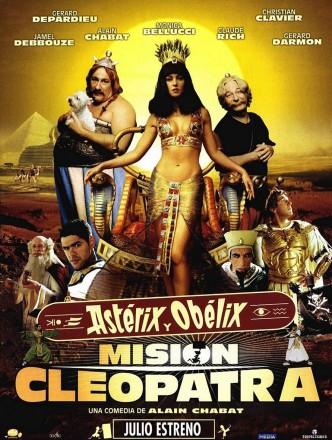 Астерикс и Обеликс: Миссия «Клеопатра» / Astérix & Obélix: Mission Cléopâtre / Asterix & Obelix: Mission Kleopatra (2002): постер