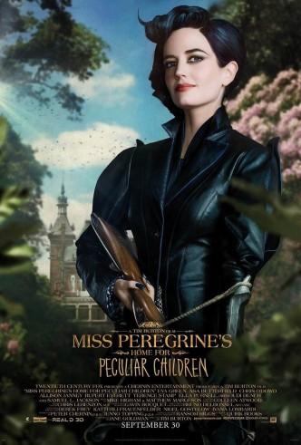 Дом странных детей Мисс Перегрин / Miss Peregrine's Home for Peculiar Children (2016): постер