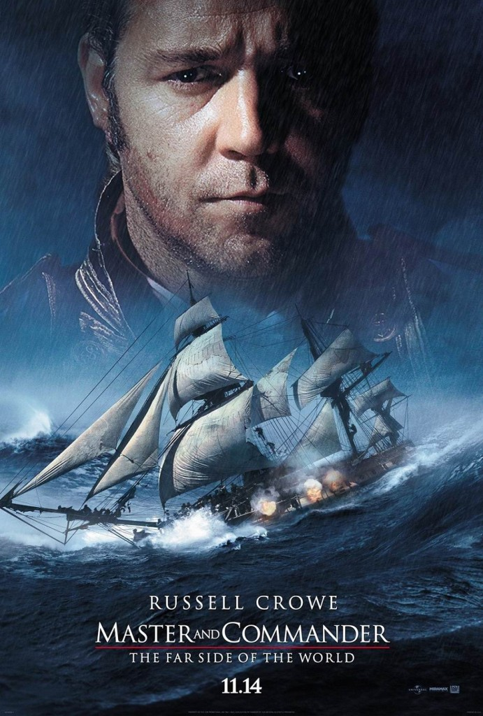 Хозяин морей: На краю земли / Master and Commander: The Far Side of the World (2003): постер