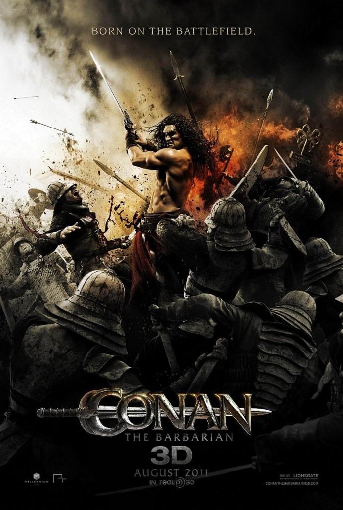Конан-варвар / Conan the Barbarian (2011): постер