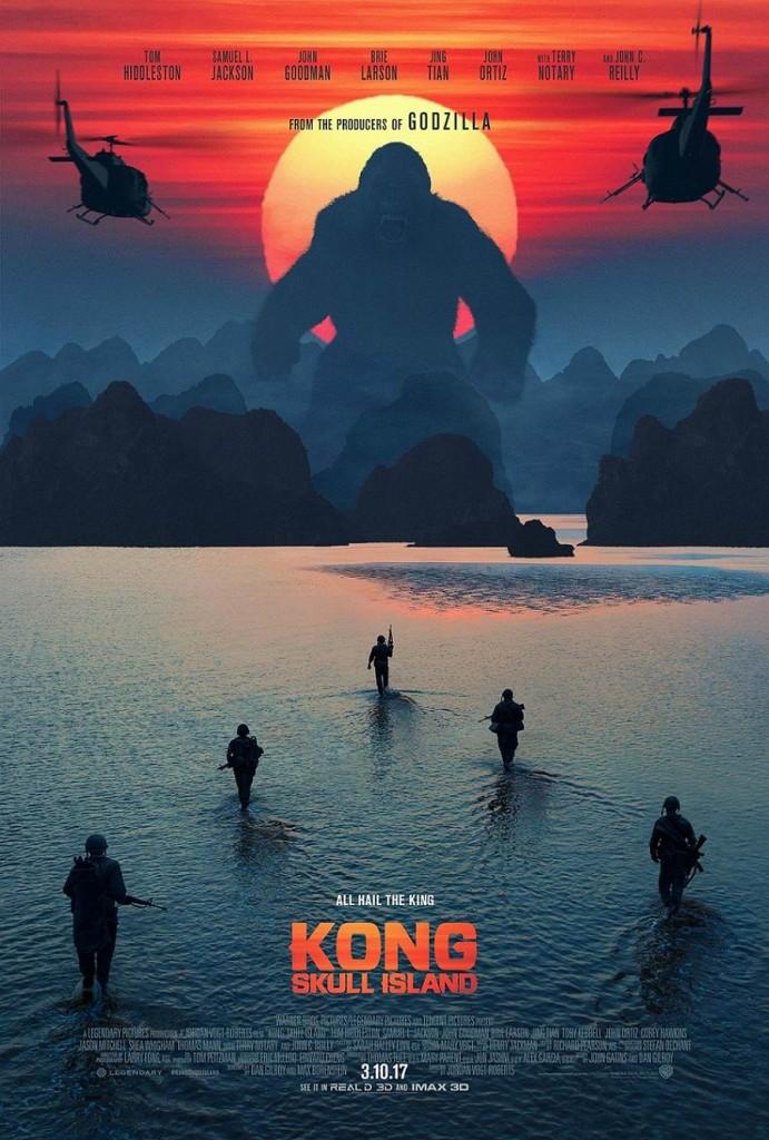 Конг: Остров черепа / Kong: Skull Island (2017): постер