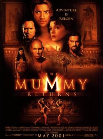 Мумия возвращается / The Mummy Returns (2001): постер