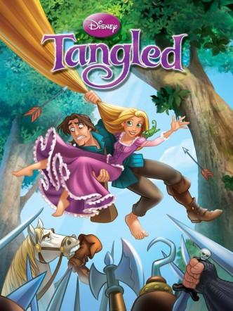 Рапунцель: Запутанная история / Tangled (2010): постер