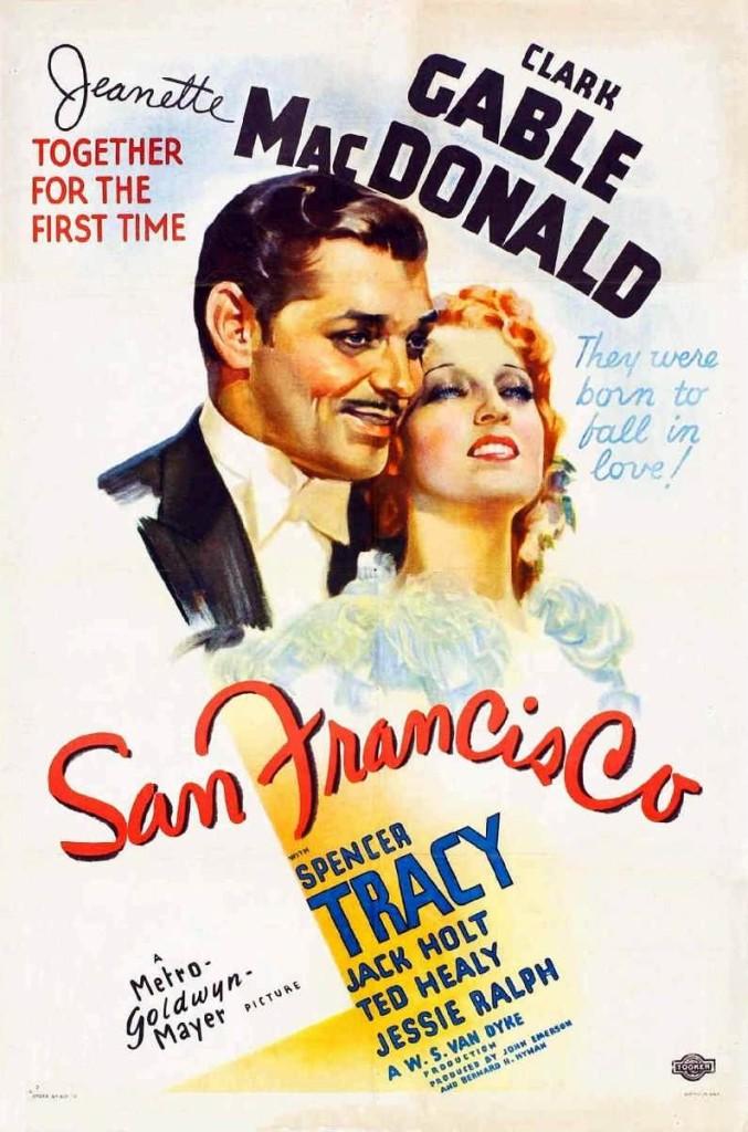 Сан-Франциско / San Francisco (1936): постер