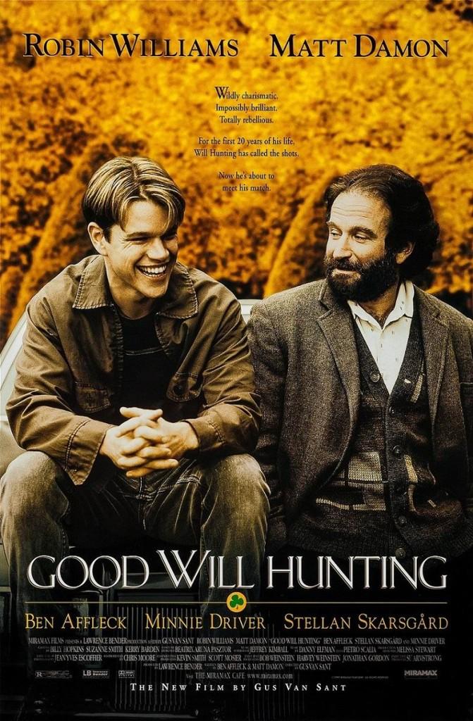 Умница Уилл Хантинг / Good Will Hunting (1997): постер