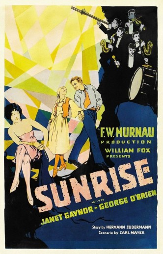 Восход солнца / Sunrise: A Song of Two Humans (1927): постер