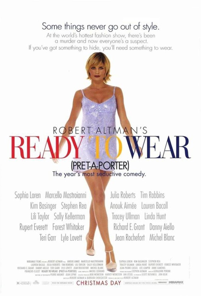 Высокая мода / Prêt-à-Porter (1994): постер