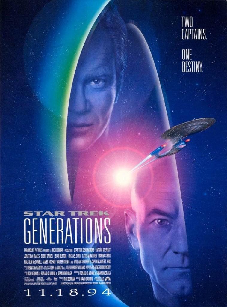 Звёздный путь: Поколения / Star Trek: Generations (1994): постер