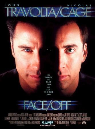 Без лица / Face/Off (1997): постер