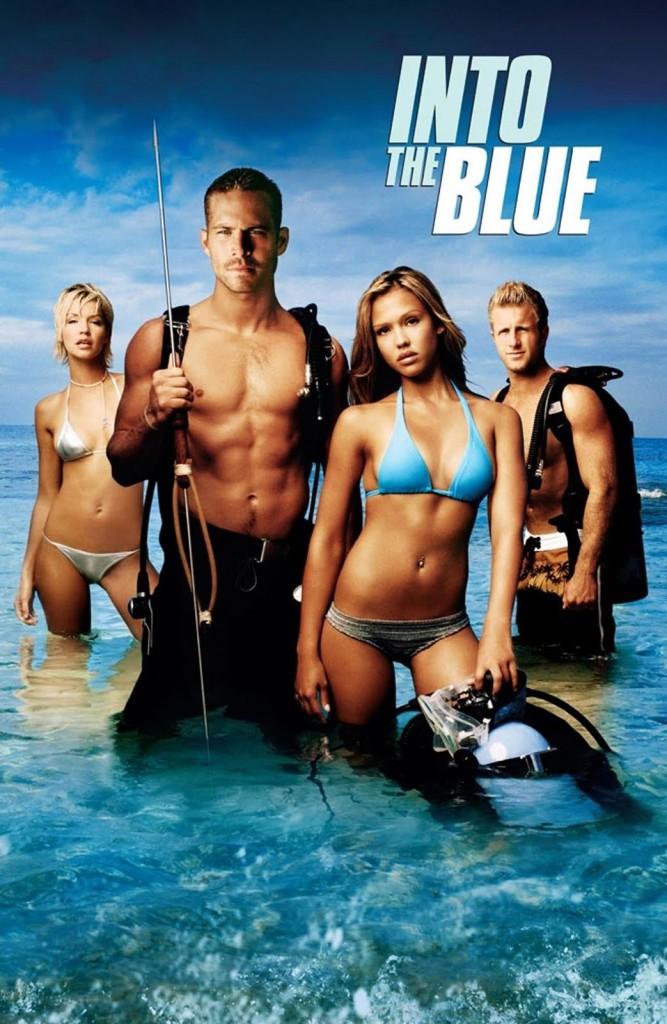 Добро пожаловать в рай / Into the Blue (2005): постер