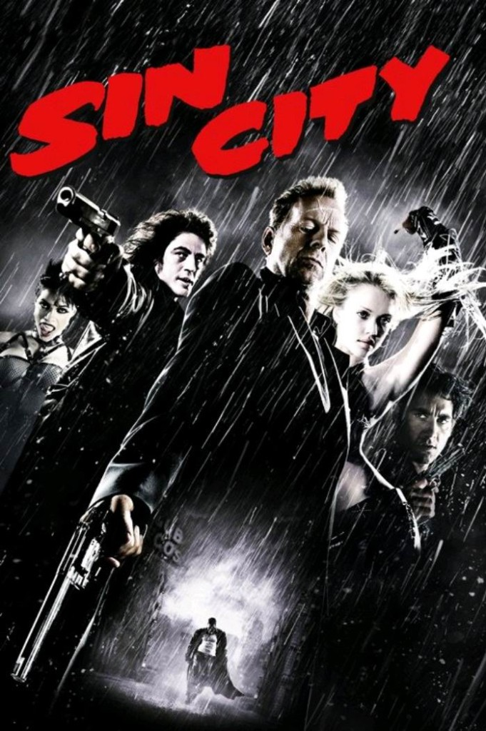 Город грехов / Sin City (2005): постер