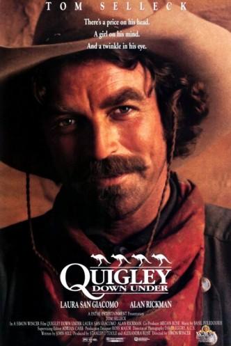 Куигли в Австралии / Quigley Down Under (1990): постер