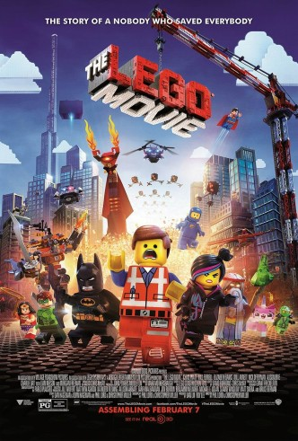 Лего. Фильм / The LEGO Movie (2014): постер