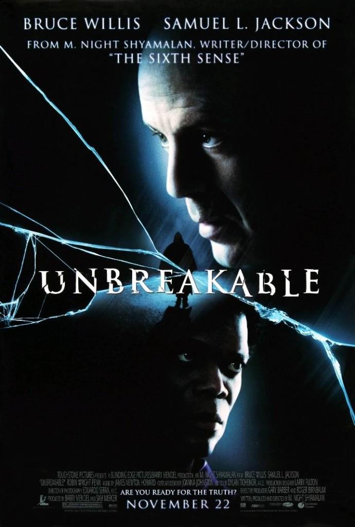 Неуязвимый / Unbreakable (2000): постер