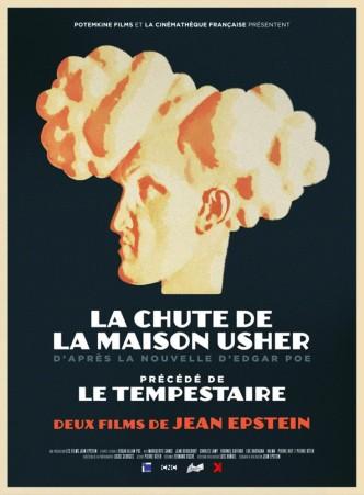 Падение дома Ашеров / La chute de la maison Usher (1928): постер