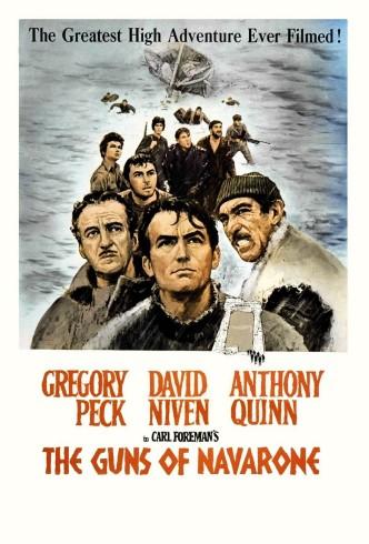 Пушки острова Наварон / The Guns of Navarone (1961): постер