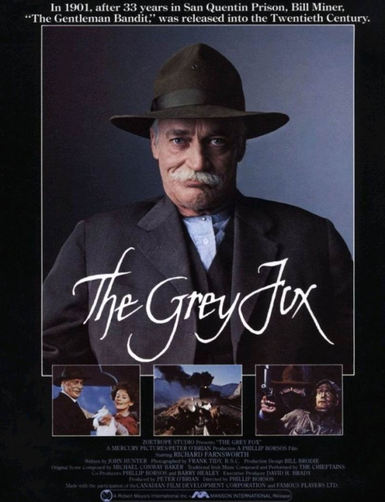 Серый лис / The Grey Fox (1982): постер