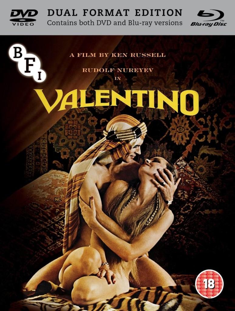 Валентино / Valentino (1977): постер