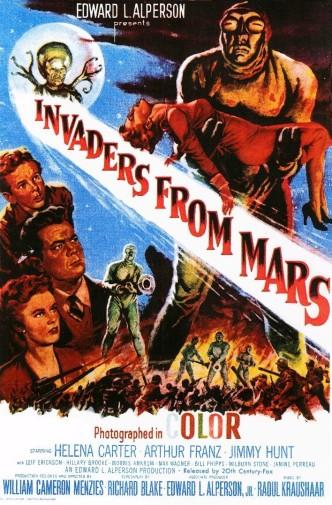 Захватчики с Марса / Invaders from Mars (1953): постер
