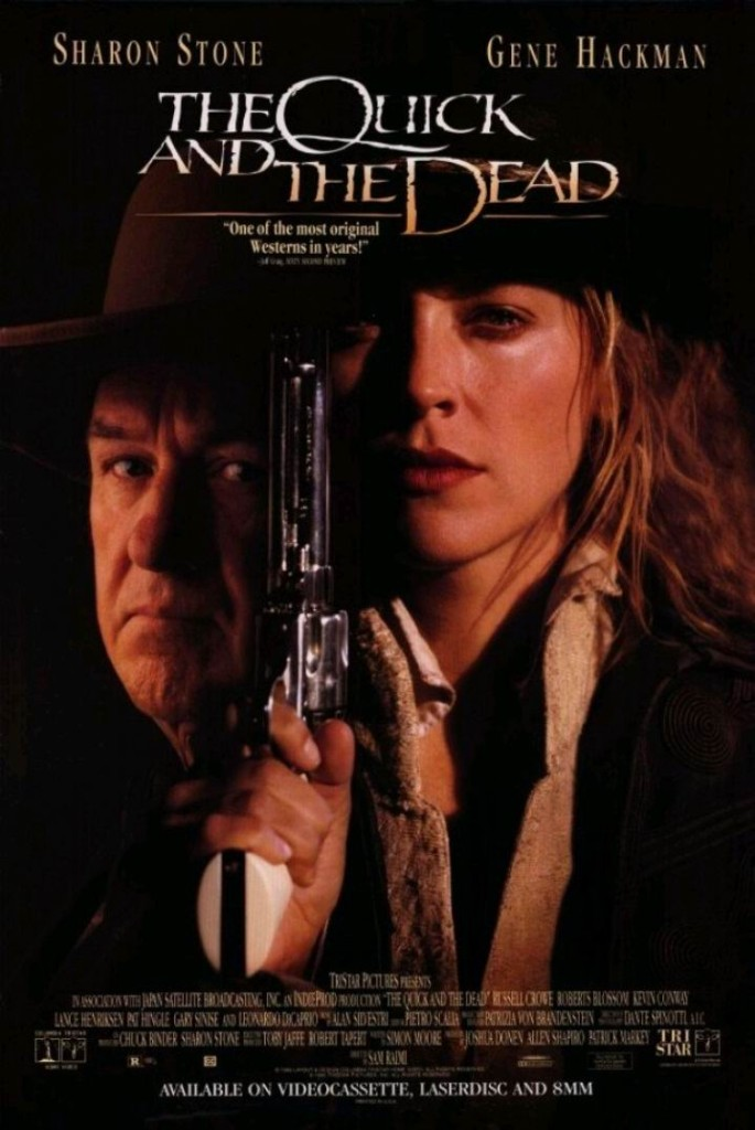 Быстрый и мёртвый / The Quick and the Dead (1995): постер