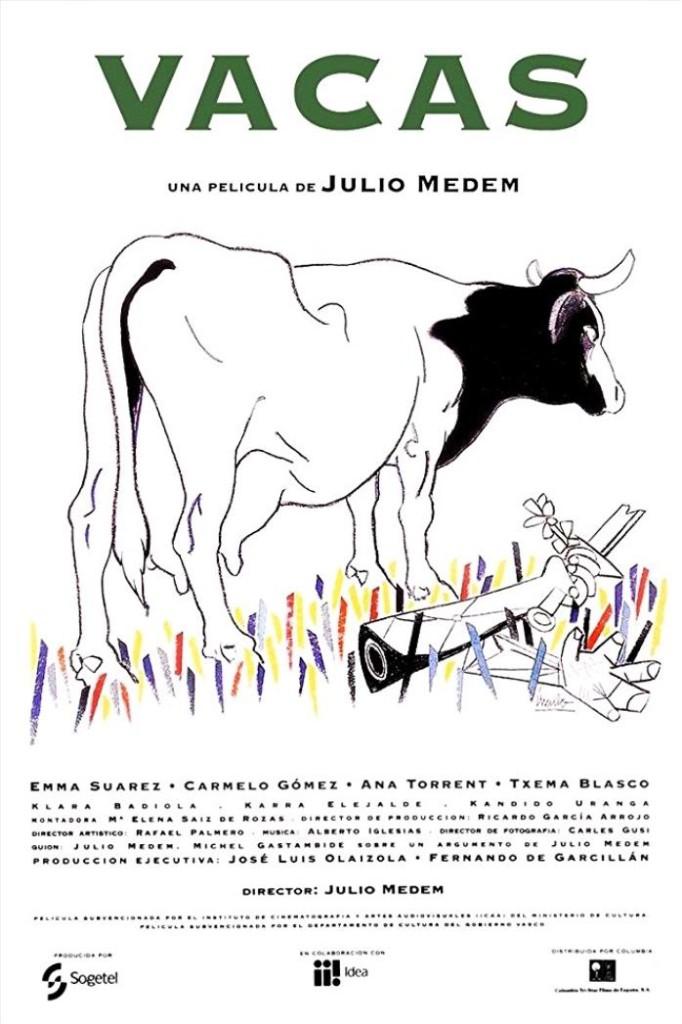 Коровы / Vacas (1992): постер