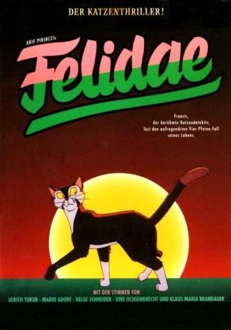 Приключения знаменитого кота-сыщика / Felidae (1994): постер