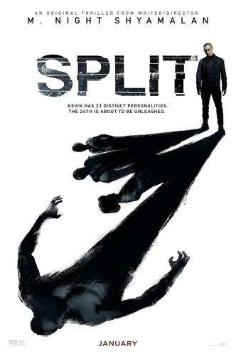 Сплит / Split (2016): постер