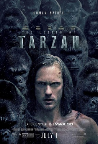 Тарзан. Легенда / The Legend of Tarzan (2016): постер