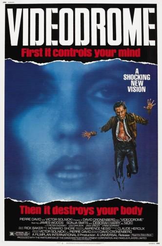 Видеодром / Videodrome / Vidéodrome (1983): постер