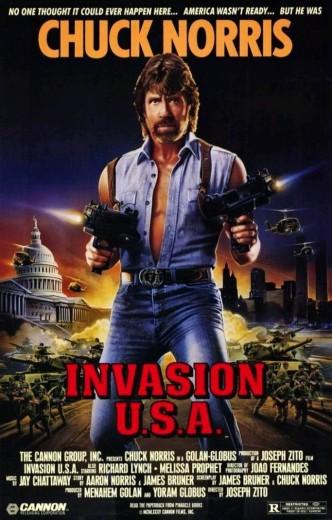 Вторжение в США / Invasion U.S.A. (1985): постер