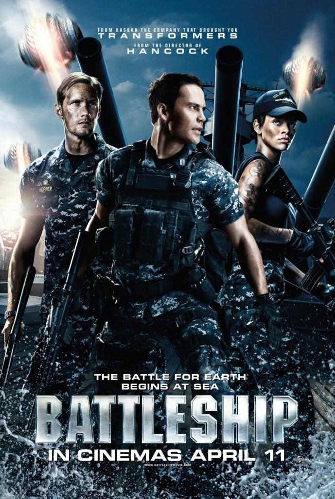 Морской бой / Battleship (2012): постер