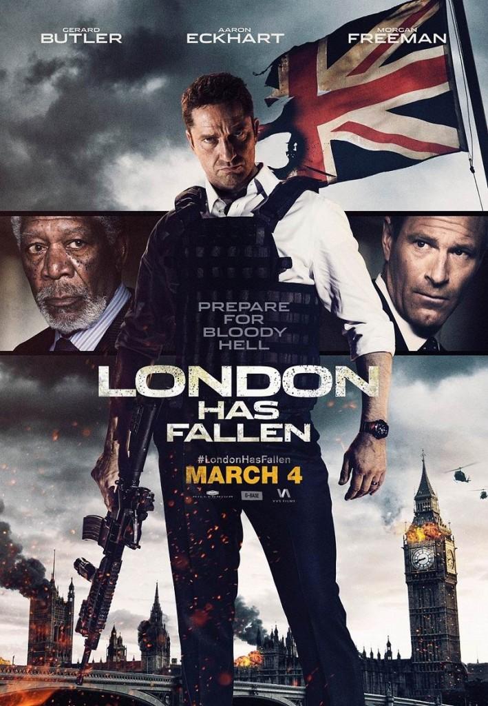 Падение Лондона / London Has Fallen (2016): постер