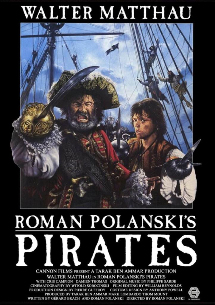 Пираты / Pirates (1986): постер