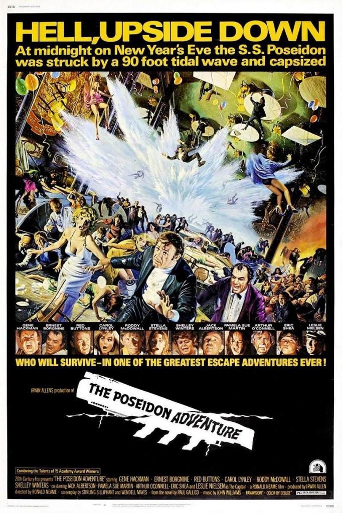 Приключения «Посейдона» / The Poseidon Adventure (1972): постер