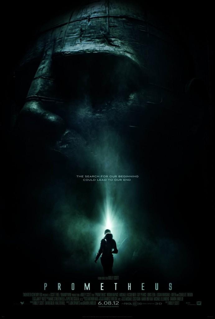 Прометей / Prometheus (2012): постер