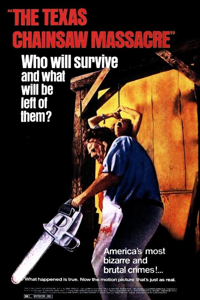 Техасская резня бензопилой / The Texas Chain Saw Massacre (1974): постер