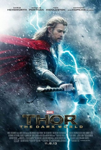 Тор 2: Царство тьмы / Thor: The Dark World (2013): постер