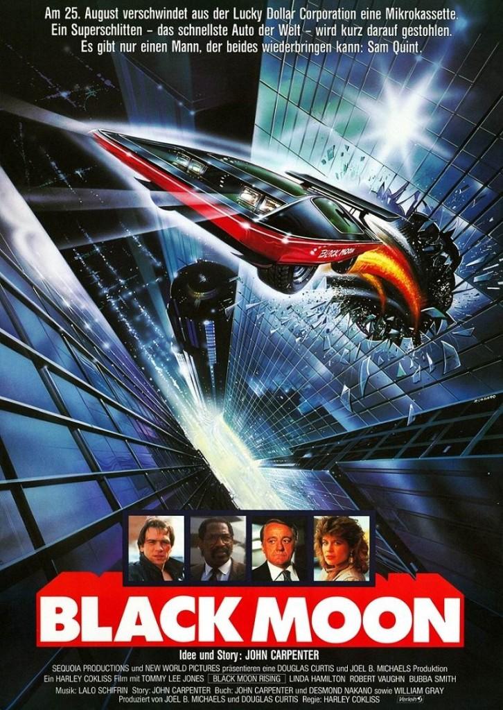Восход «Чёрной луны» / Black Moon Rising (1986): постер