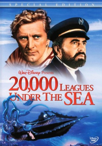 20000 льё под водой / 20,000 Leagues Under the Sea (1954): постер