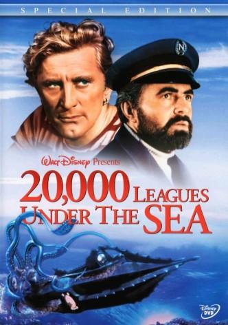 20000 льё под водой / 20,000 Leagues Under the Sea (1954): постер